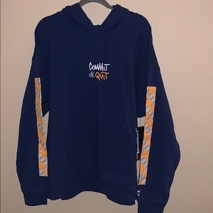 """Element """"Commit or Quit"""" hoodie NWT"""